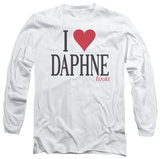 Long Sleeve: Frasier - I Heart Daphne T-shirts