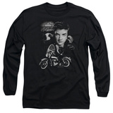 Long Sleeve: Elvis Presley - The King Rides Again T-shirts