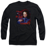 Long Sleeve: Childs Play 3 - Time To Play Shirts