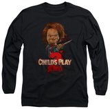 Long Sleeve: Childs Play 2 - Heres Chucky T-shirts
