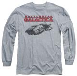 Long Sleeve: Battlestar Galactica - Ship Logo T-Shirts