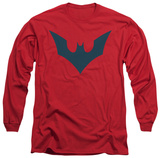 Long Sleeve: Batman Beyond - Beyond Bat Logo T-shirts