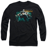 Long Sleeve: Grimm - Storytime Is Over T-shirts