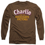 Long Sleeve: Charlie and the Chocolate Factory - Logo Shirt