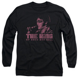 Long Sleeve: Elvis Presley - The King T-shirts