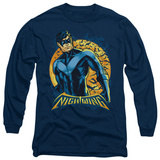 Long Sleeve: Batman - Nightwing Moon T-Shirt