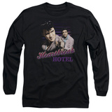 Long Sleeve: Elvis Presley - Heartbreak Hotel Long Sleeves