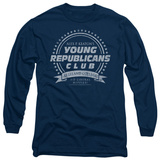 Long Sleeve: Family Ties - Young Republicans Club T-shirts