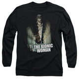 Long Sleeve: Bionic Woman - Motion Blur T-shirts