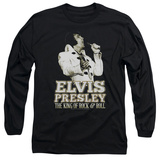 Long Sleeve: Elvis Presley - Golden Long Sleeves