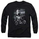 Long Sleeve: Elvis Presley - Motorcycle T-shirts
