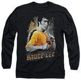 Long Sleeve: Bruce Lee - Yellow Dragon T-Shirt