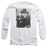 Long Sleeve: Blues Brothers - Brick Wall T-shirts