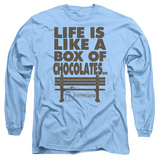 Long Sleeve: Forrest Gump - Life Shirts