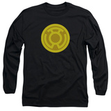 Long Sleeve: Green Lantern - Yellow Symbol T-shirts