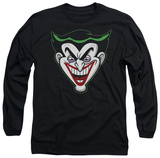 Long Sleeve: Batman The Brave and the Bold - Animated Joker Head T-shirts