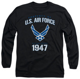Long Sleeve: Air Force - Property Of Long Sleeves