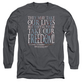 Long Sleeve: Braveheart - Freedom T-Shirt