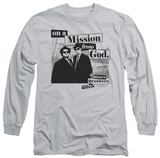 Long Sleeve: Blues Brothers - Mission T-Shirt