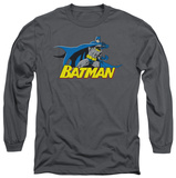Long Sleeve: Batman - 8 Bit Cape Shirt