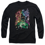 Long Sleeve: Green Lantern - The New Guardians T-shirts