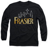 Long Sleeve: Frasier - Frasier Logo T-shirts