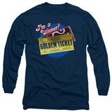 Long Sleeve: Charlie and the Chocolate Factory - Golden Ticket Shirts