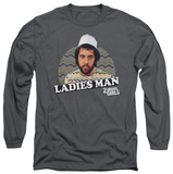 Long Sleeve: 2 Broke Girls - Ladies Man T-Shirt