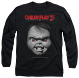 Long Sleeve: Child's Play 3 - Face Poster T-Shirt