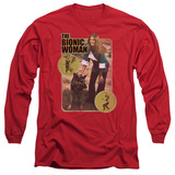 Long Sleeve: Bionic Woman - Jamie And Max T-Shirt