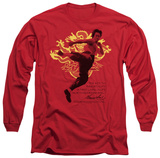 Long Sleeve: Bruce Lee - Immortal Dragon Shirts