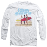 Long Sleeve: Blue Crush - 3 Boards T-shirts