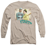 Long Sleeve: Abbott & Costello - Who's On First Shirts