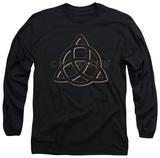 Long Sleeve: Charmed - Triple Linked Logo Shirt