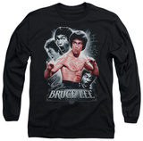 Long Sleeve: Bruce Lee - Inner Fury T-Shirt