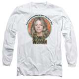 Long Sleeve: Bionic Woman - Under My Skin T-Shirt
