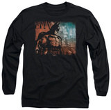 Long Sleeve: Batman Arkham City - City Knockout T-shirts