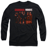 Long Sleeve: Criminal Minds - The Crew T-shirts