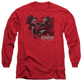Long Sleeve: Batman Beyond - City Jump T-shirts