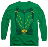 Long Sleeve: Green Arrow - Arrow Costume T-Shirt