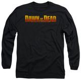 Long Sleeve: Dawn Of The Dead - Dawn Logo T-shirts