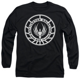 Long Sleeve: Battlestar Galactica - Galactica Badge Vêtement