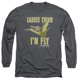 Long Sleeve: Land Before Time - I'm Fly T-Shirt