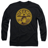 Long Sleeve: Elvis Presley - Elvis Full Sun Label T-Shirt