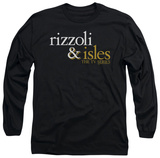 Long Sleeve: Rizzoli & Isles - Logo T-shirts