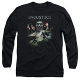 Long Sleeve: Injustice: Gods Among Us - Key Art Long Sleeves