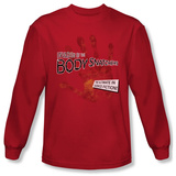 Long Sleeve: Invasion of the Body Snatchers - Retro Poster T-shirts