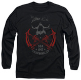 Long Sleeve: Sons Of Anarchy - Cross Guns T-Shirt