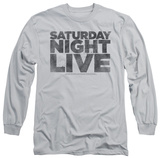 Long Sleeve: Saturday Night Live - Distressed Logo T-Shirt