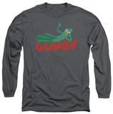 Long Sleeve: Gumby - On Logo T-Shirt